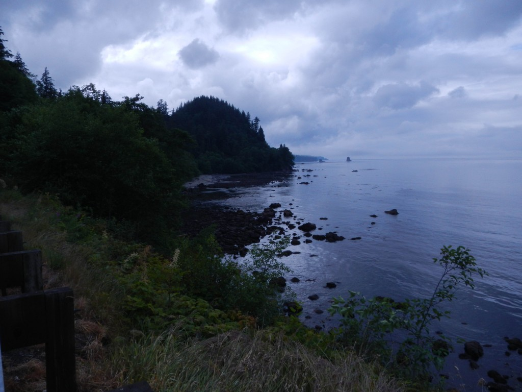 The north coast of the Olympic Peninsula, from Washington 112