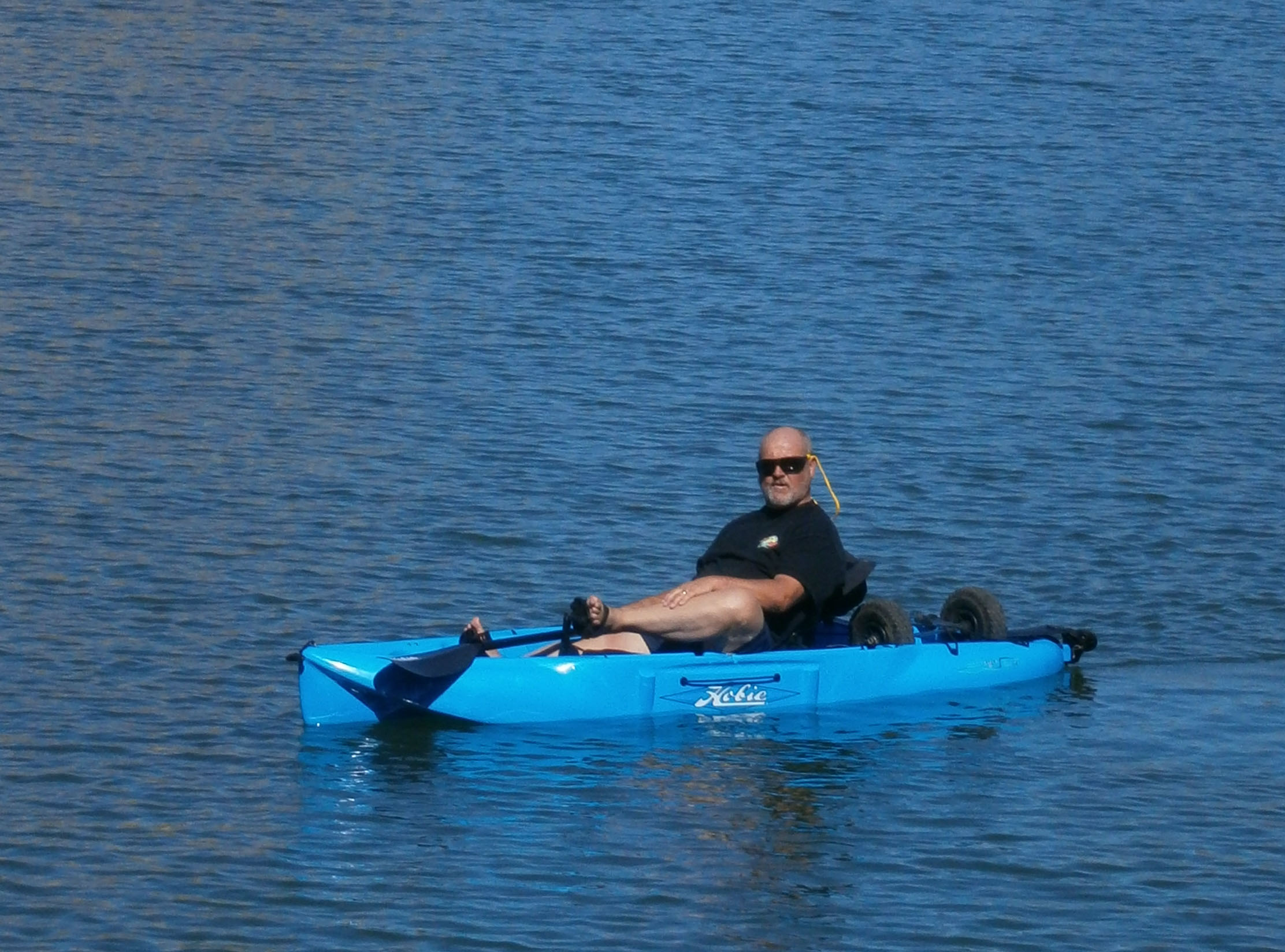 Don, in the lagoon